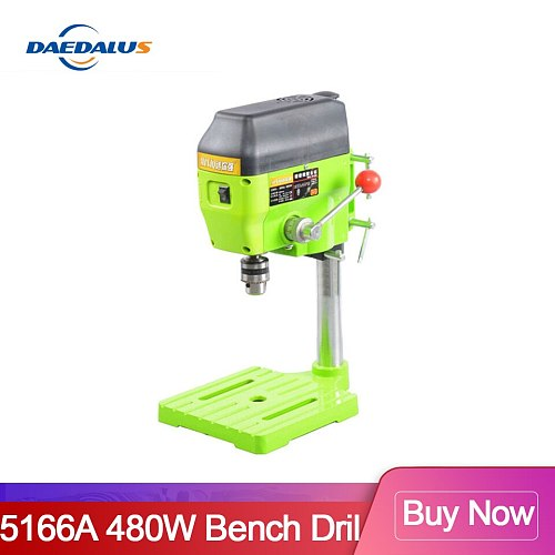High Variable Speed Bench Drill Press 480W Drilling Machine Drilling Chuck 1-10mm For DIY Wood Metal Electric Tools