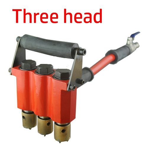 Professional Durable Pavement Bridge Alloy Chisel Hammer Wall Cement Concrete Machine Pneumatic Hand-Held Red Color