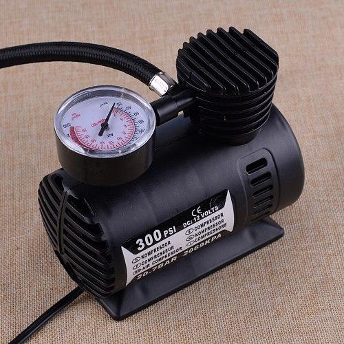 LETAOSK 12V 1PC 300PSI Portable Mini Air Compressor Auto Car Electric Tire Air Inflator Pump Tool