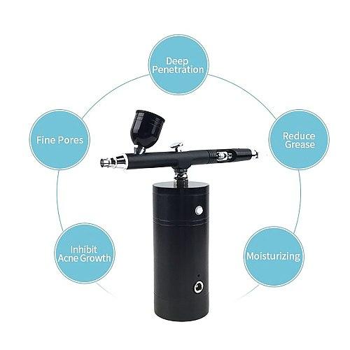 Airbrush compressor kit complete makeup gun machine in multi-functional beauty equipment mini air compressor