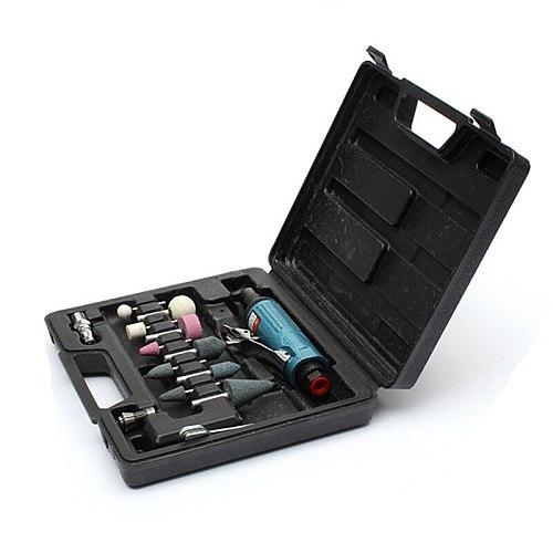 14 Pieces Air Compressor Die Grinder Grinding Polish Stone Kit 1/4  Air Grinder Mill Engraving Tools Kits Pneumatic Tools