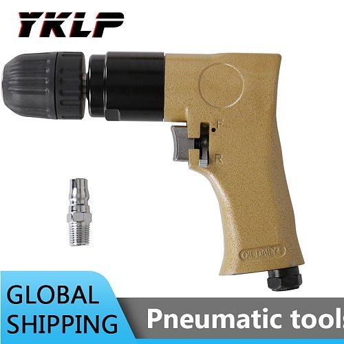 Air Drill Pistol Type Reversible Pneumatic Drilling Tool for Metal 2000RPM