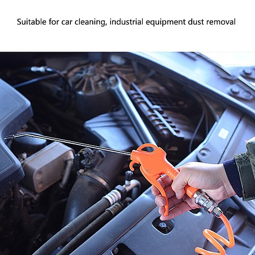 Plastic Dust Blow Gun Air Compressor Dust Collector Pneumatic Tool for Dust Debris Cleaning