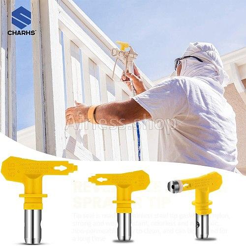 5 series Airless sprayer Tips All model 509---535 yellow nozzle Airless Paint Spray Gun / Airless Sprayer Spraying Machine Parts
