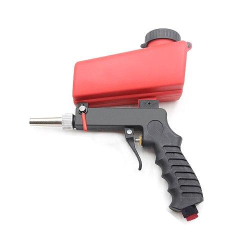 Media Spot Sand Blaster Gun Hand Held Portable Air Gravity Feed Sandblaster