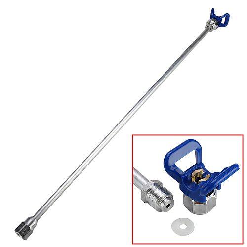 Airless Paint Spray Gun Tip Extension Pole Rod Aluminum Alloy Tool Sprayer Extension Rod 20/30/50/75cm For Spraying Machine