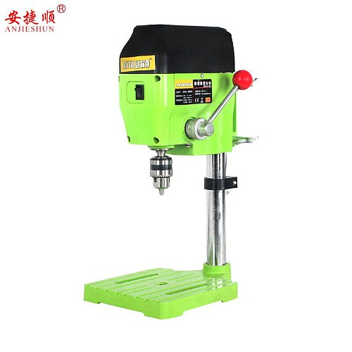 An Jieshun micro-small bench drill mini bench drill precision high-speed bench drill Drilling machine milling machine beads home