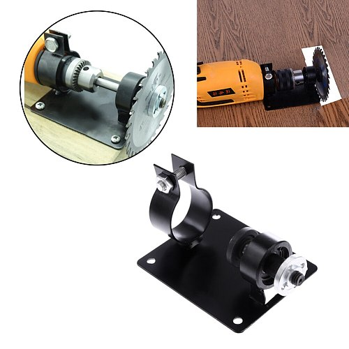 10mm Electric Drill Cutting Seat Stand Set Machine Bracket Rod Bar Table + 2 Wrenchs + 2 Gaskets