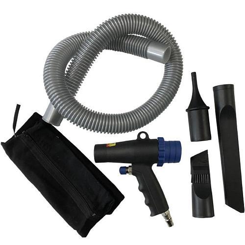 2 In 1 Air Duster Compressor Dual-purpose Pneumatic Air Vacuum Dust Suction Blower Pistol Pneumatic Vacuum Cleaning Tools Kit