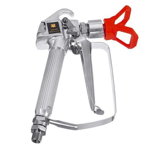 3600psi Spray Gun Quick Edge Airless Paint Sprayer Tungsten Steel Spraying Guide Machine Nozzle Universal Power Accessories