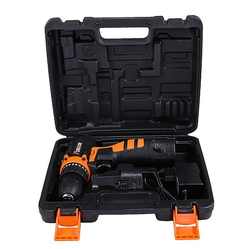 12V Electric Cordless Screwdriver Drill Torque Electric Drilling Machine Mini Hand Drill Wireless Lithium-Ion Battery Power Tool