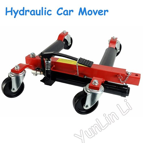 Hydraulic Car Moving Machine Max Moving with 680kg Universal Wheel Car Mover Hydraulic Trailer Vehicle Mobile Device