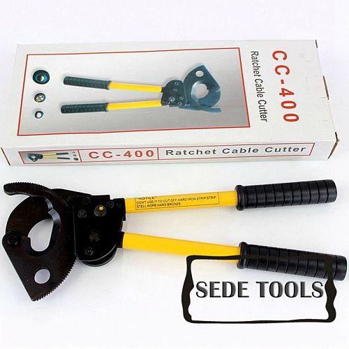 CC-400 Ratchet Cable Cutter cut 400mm2 Cu/Al cable