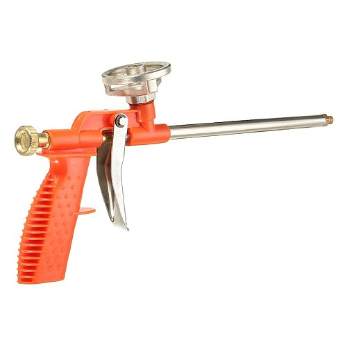 stainless steel Spray Foam Gun Window Door Sealing Foam Gun High Pressure Car Sealant Dispensing Insulating Applicator Tool Use
