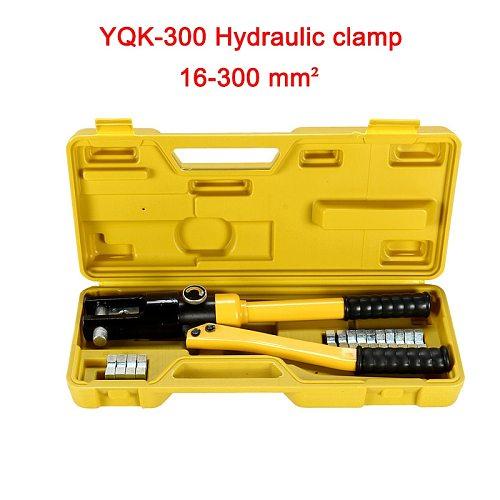 YQK-300 Hydraulic Crimping Tools Hydraulic Compression Tool Range 16-300mm Pressure 12T Cable Lug Copper aluminum Crimper Pliers