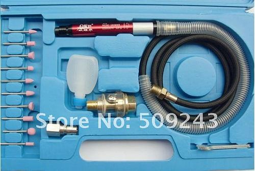 NEW High Speed Air Micro Grinder Kit + 10PCS Grinding head Air Tools  Industrial use