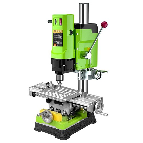 MINIQ Mini Bench Drill Bench Drilling Machine Variable Speed Drilling Chuck 1-16mm For DIY Wood Metal Electric Tools