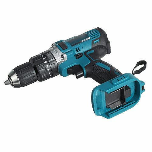 For Makita 18V Electric Cordless Drill Hammer Screwdriver 3-In-1 1500 RPM Power Tools Brushless Cordless Impact Drill Hot