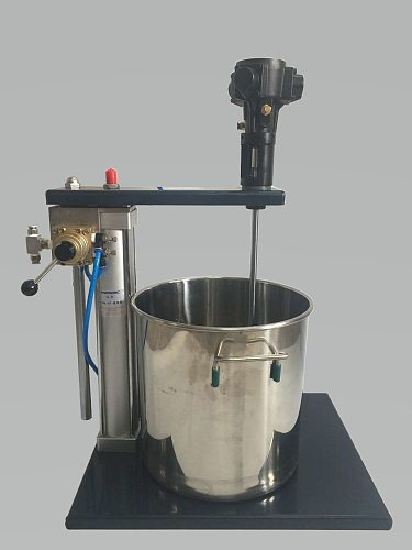 PARMARC Industrial mixing  Blender 5 gallons Pneumatic automatic lifting Send 20L stainless steel drums air Pump