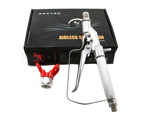 2019 New Professional Quality Airless Spray Gun For Graco TItan Wagner Paint Sprayers With 517 Spray Tip Best Promotion