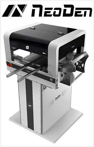 Automatic Pick and Place Machine with Dual Automatic Rails Neoden 4,BGA,0201,LED
