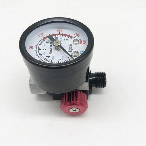 DEWABISS spray paint gun Air Regulator gauge iron airbrush painting cars tool