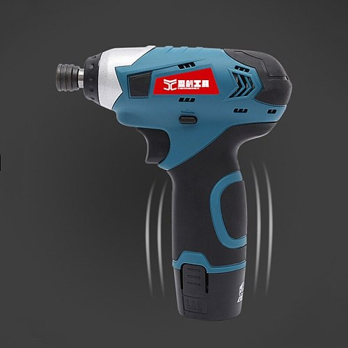 Rechargeable Electric Batch Impact Driver 12V Electric Screwdriver Power Tools  Lithium