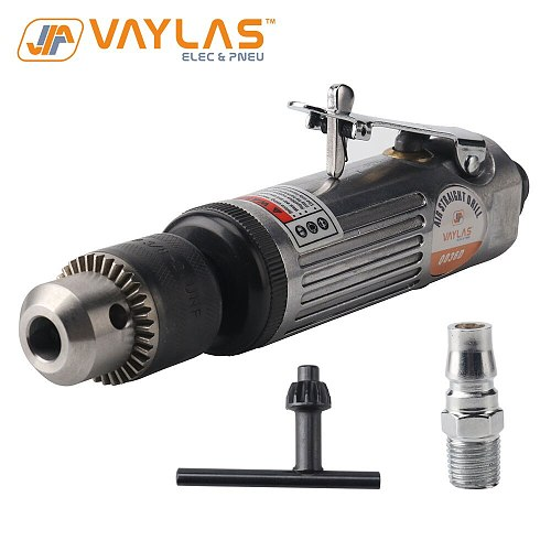 Air Drill Pneumatic Drilling Tool 22000 Rated RPM 1.5-10mm Max Chuck Hole Multifunctional Air Straight Drill