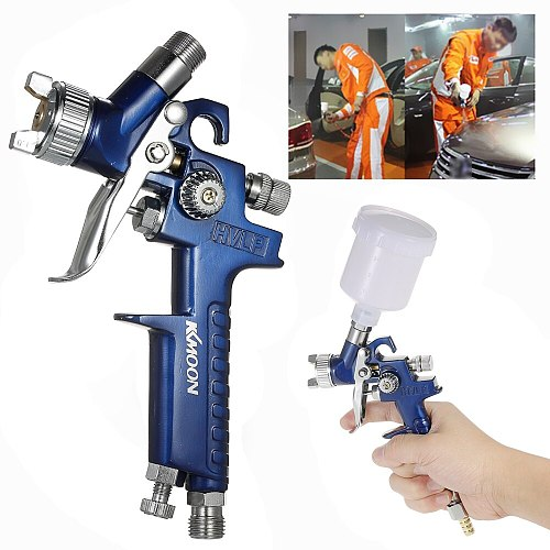 Spray Gun paint sprayer 0.8mm/1.0mm Nozzle H-2000 Professional HVLP Mini Air Paint Spray Gun Airbrush For Painting Car Aerograph