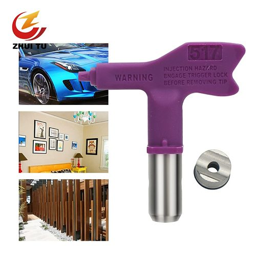 3/4 Series Spray Paint Latex Paint Putty High Pressure Airless Sprayer Nozzle Suitable For Titan Wagner Airless Spray Gun Nozzle