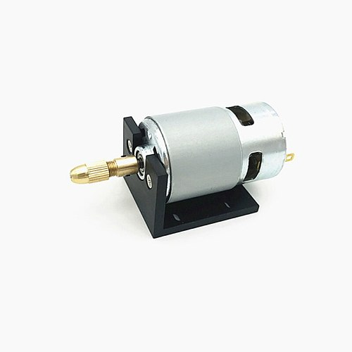 Bench drill Lathe Press 555 Motor With Miniature Hand Drill Chuck And Mounting Bracket Dc Motor DC 12-24V JTO 0.3-4mm