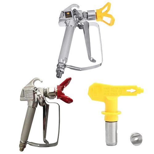 Universal Spray Gun Quick Edge Airless Paint Sprayer 3600psi Tungsten Steel Spraying Guide Machine Power Accessories