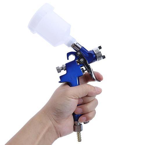 0.8mm/1.0mm Nozzle H-2000 HVLP Professional Spray Gun Mini Air Paint Spray Guns Airbrush Power Tools For Painting Car Aerograph