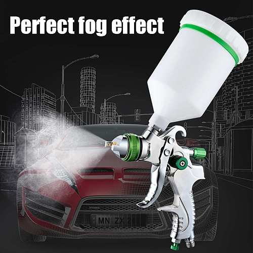 Professional 1.4/1.7/2.0mm Nozzle Automotive Aerosol Paint Hvlp Spray Paint Gun for Painting Cars Sprayer Airbrush Pneumatic Gun