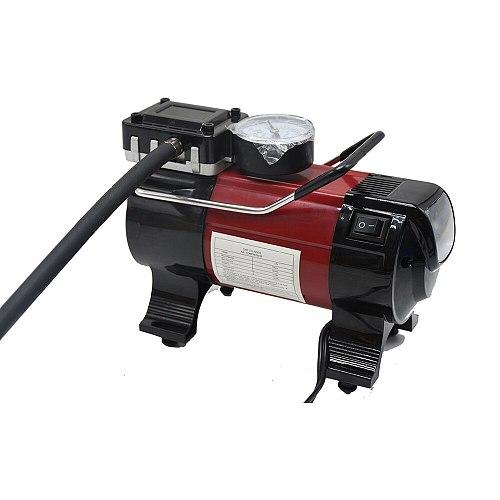 Car Electric Inflator Pump 12V 150PSI Air Compressor Electric Tire Tyre Inflator Pump Orange QZ037