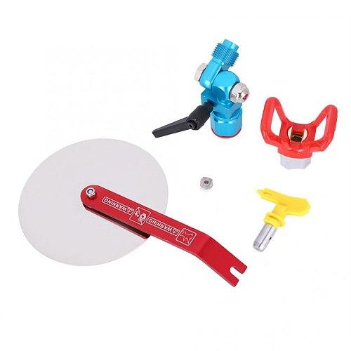 7/8'' Spray Guide Tool Universal 5000psi Airless Sprayer Paint Spray Gun Tip Accessory