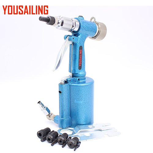 YOUSAILING M4-M10  Air Nut Riveter Semi-automatic Pneumatic Riveter Nut Tool Air Rivet Nut Gun Riveting Stainless Steel Nuts