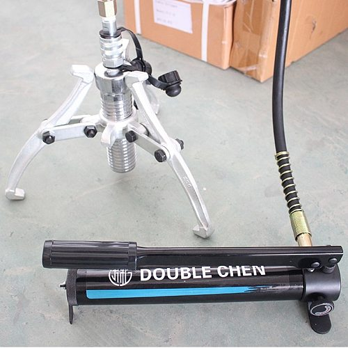 10T Hydraulic Bearing Puller Wheel Puller and hand pump FYL-10T Russia Warehouse