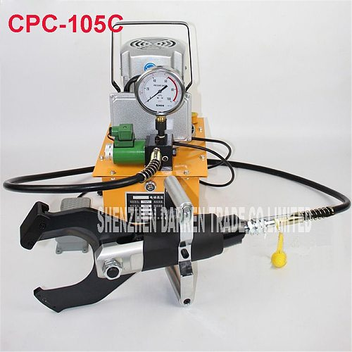 CPC-105C  electric hydraulic cable cutter cut 105MM  shielded cable Electric hydraulic cable scissors