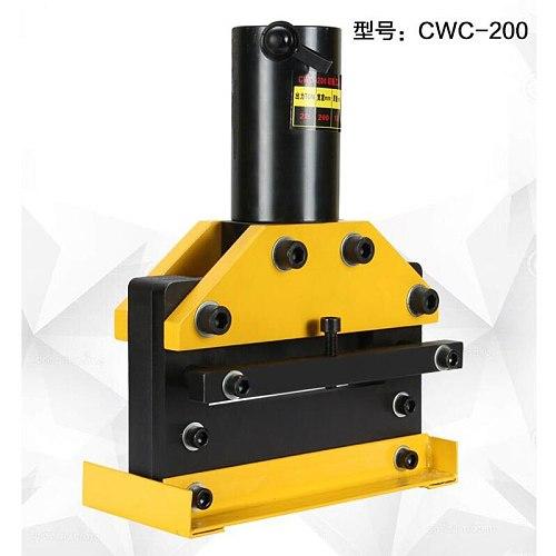 CWC-200 hydraulic cutting machine Bus processing machine Copper cutting cutting machine Split cutting knife