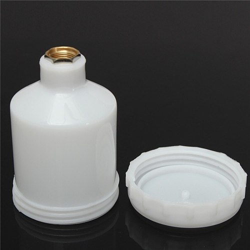 120cc M14 Plastic Sprayer Cup Air Gravity Feed Spray Paint Pot Fastmover Thread Connector For Spray Gun Tools