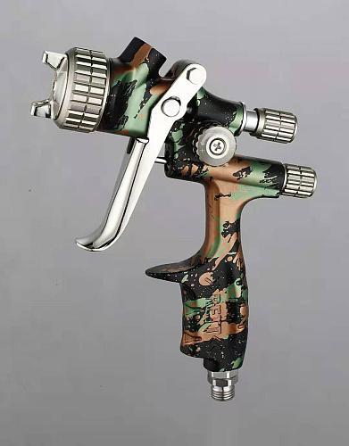 2020 Camoufl Air paint gun Sprayer LVLP Gravity feed with 600 tank professional Car body Paint Tool Pistol Spray Gun