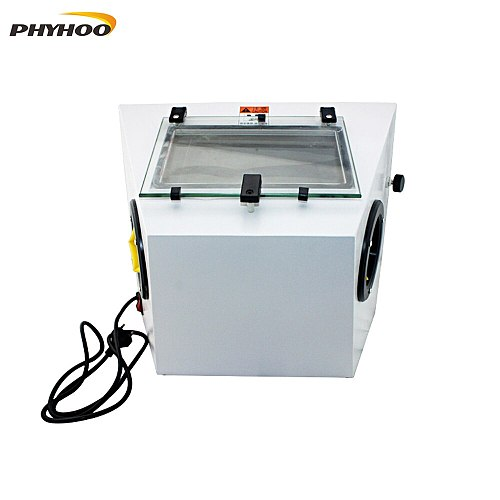 Small desktop Sandblasting Machine Metal surface Polishing Grinding machine Jewelry polishing machine