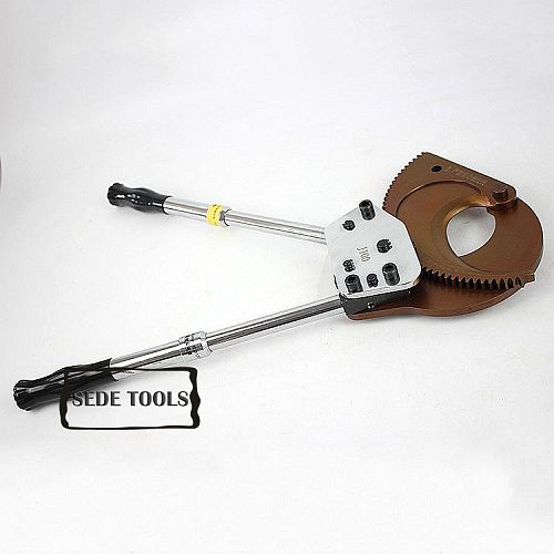 J100 Ratchet Cable Cutter for Max 100mm or 3*300mm2  armoured Cu/ Al cable