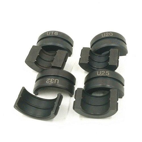 Hydraulic pressure pipe clamp Aluminum-plastic pipe copper pipe Crimping die U16,U20,U25,U32mm Pipe Crimping Tool Jaws