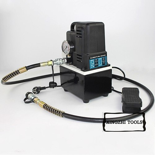 220V 600W High-voltage electric pump manual/foot switch electric hydraulic pumps Hydraulic Station CTE-70AS