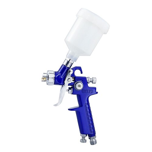 Airbrush 0.8/1.0mm Nozzle Professional HVLP Spray Guns Sprayer Paint Airbrush Mini Spray Gun for Painting Cars Aerograph Tool