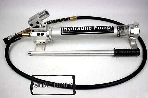 Hydraulic Hand Pumps Aluminum Alloy Manual Hydraulic Pump 4.6kg