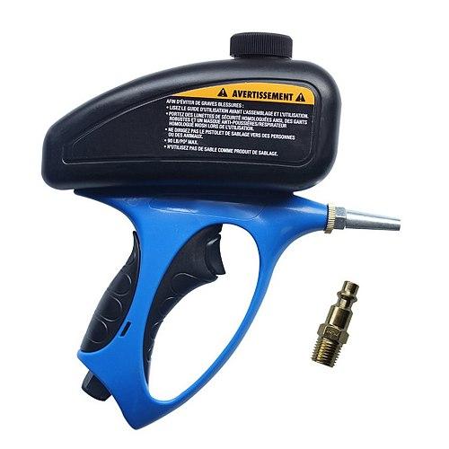 Anti-rust Sandblaster Handheld Pneumatic sand blasting machine Glass Tombstone Sprayer Sandblasting  Machine   with  Small