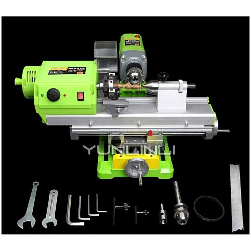 Miniature Beads Machine Home High Precision Small Lathe Processing Wood Bead Machine Automatic Small Bench Drill DT-1009